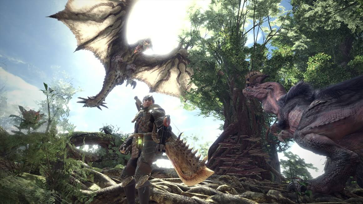 Monster hunter world дракон
