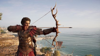 Лук Артемиды Assassins Creed Odyssey
